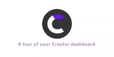 Creator dashboard tour
